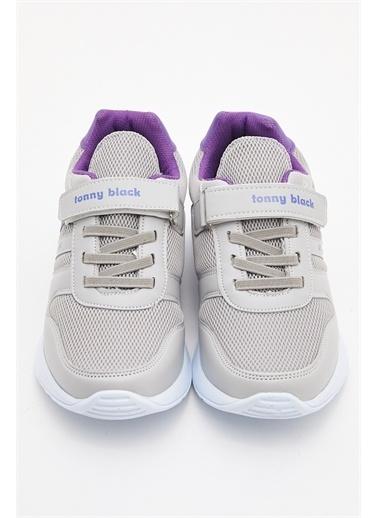 Tonny Black Çocuk Spor Ayakkabı Tbk04 Gri